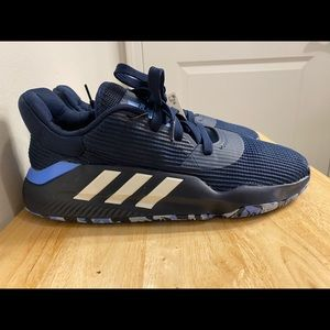 New Adidas Pro Bounce Low Basketball Navy Blue